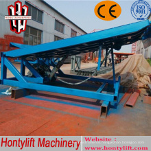 china supplier CE adjustable loading dock ramp for sale/garage car ramp
